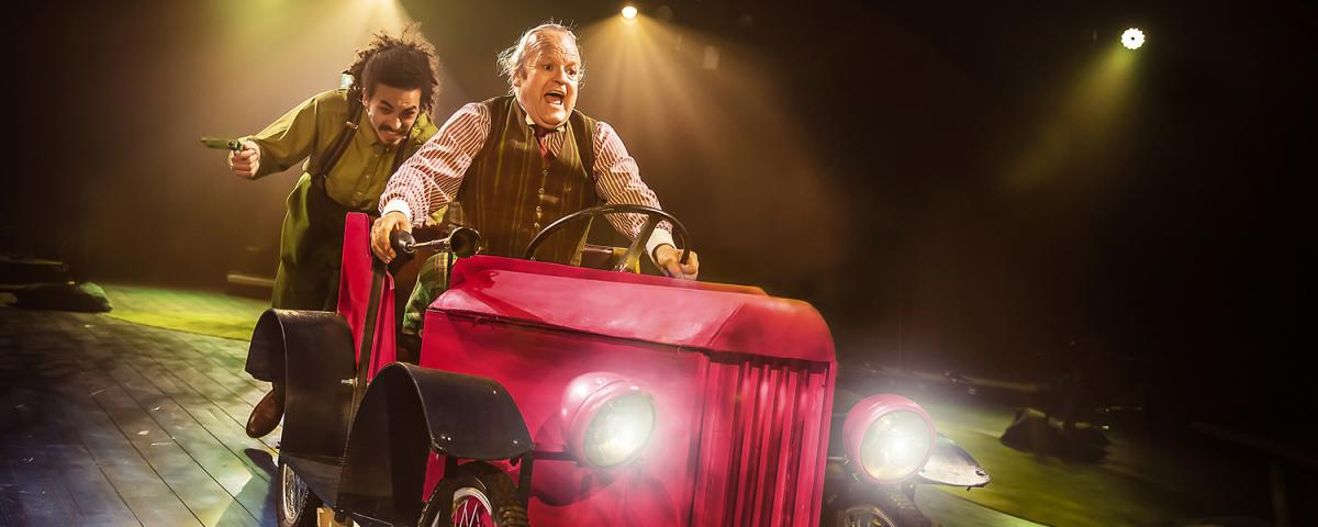 Kaine Hatukai and Jim Kitson in The Wind in the Willows