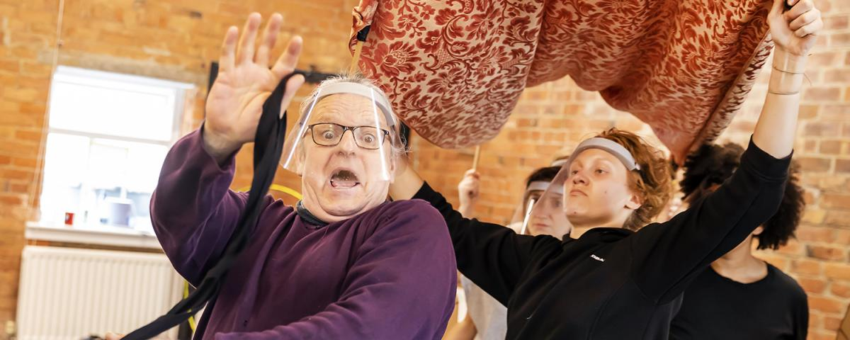The Wind in the Willows in rehearsal