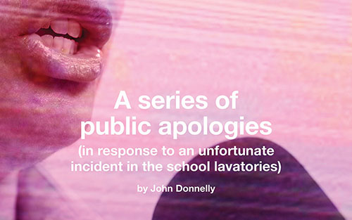 A Series of Public Apologies by John Donnelly