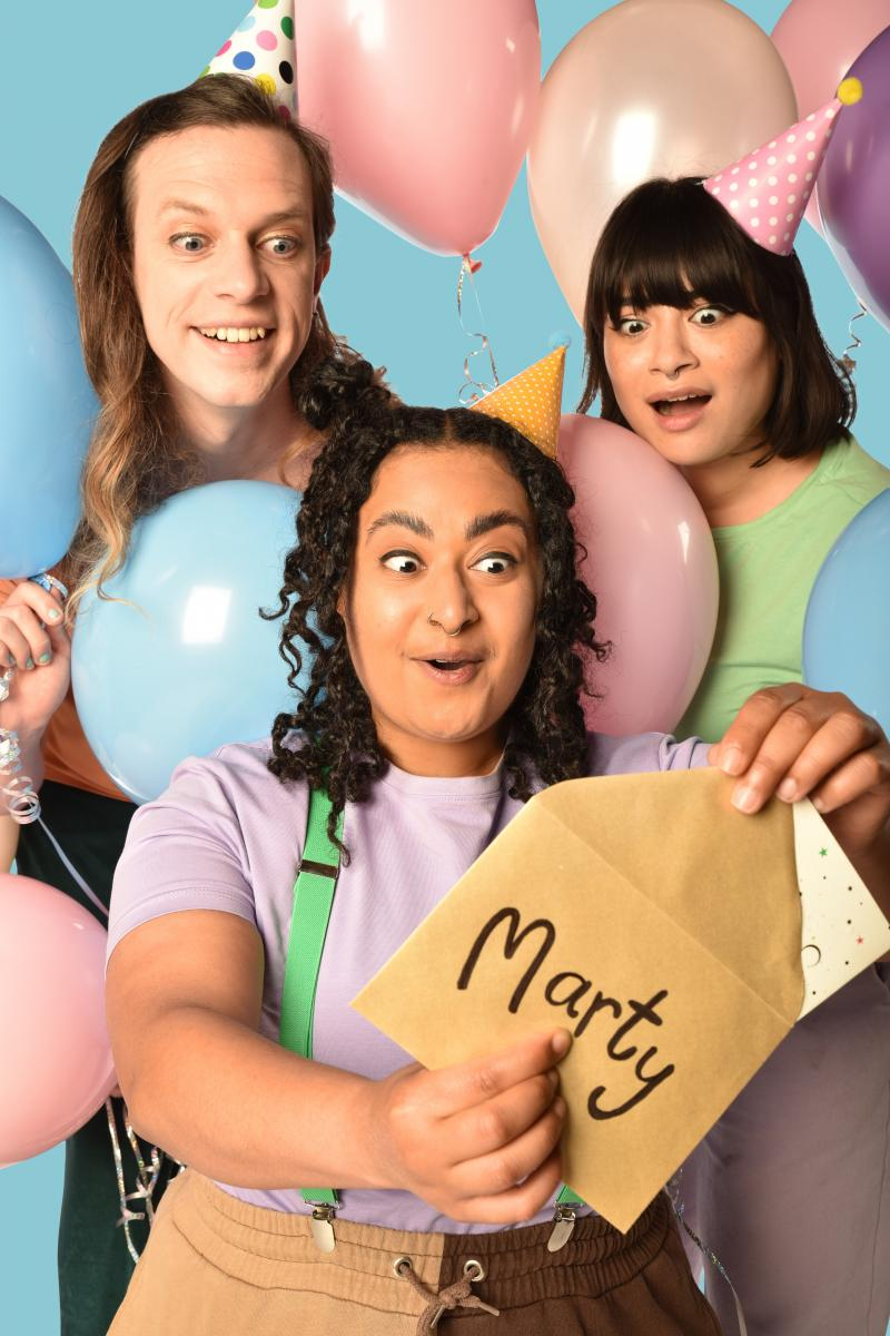 Marty and the Party - Milk Presents co-production