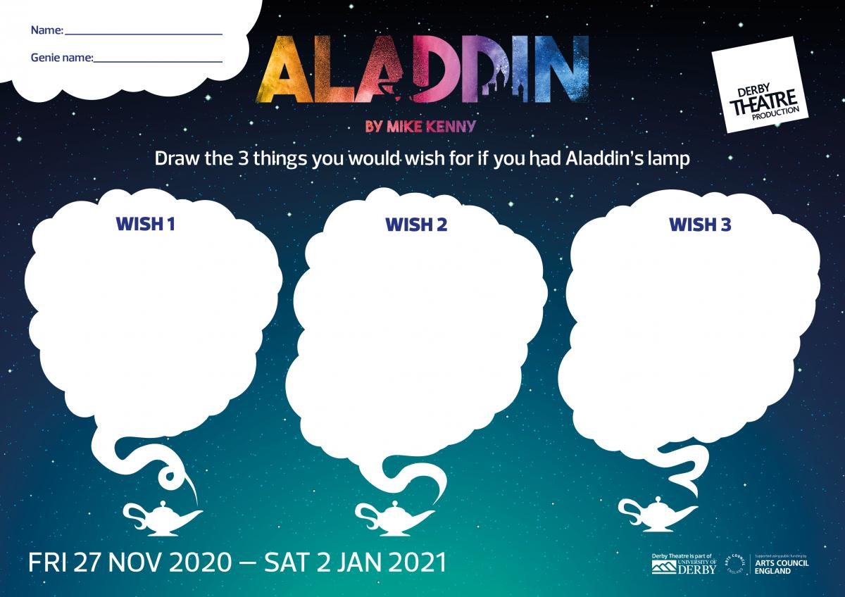 Aladdin activity sheet