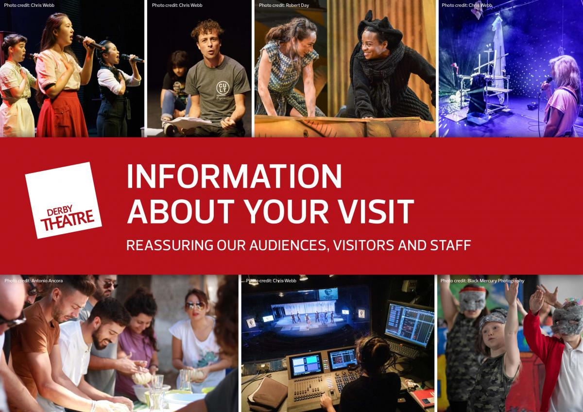 Reassuring audiences, visitors and staff