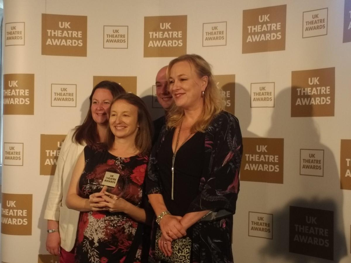 Derby Theatre win UK Theatre Award for Excellence in Arts Education