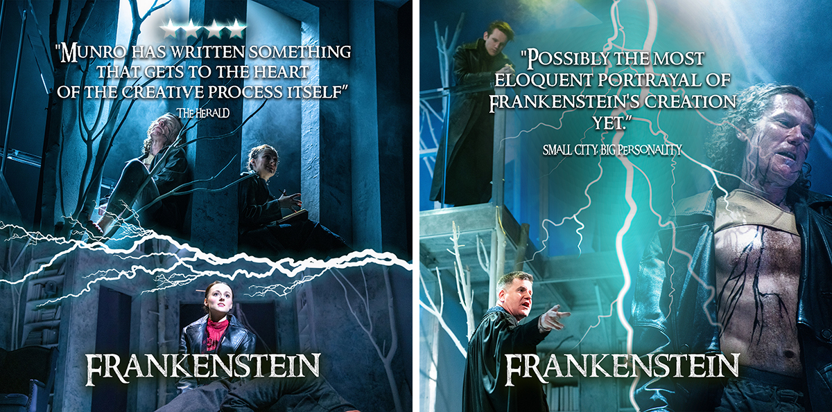 Reviews for Frankenstein at Derby Theatre 1