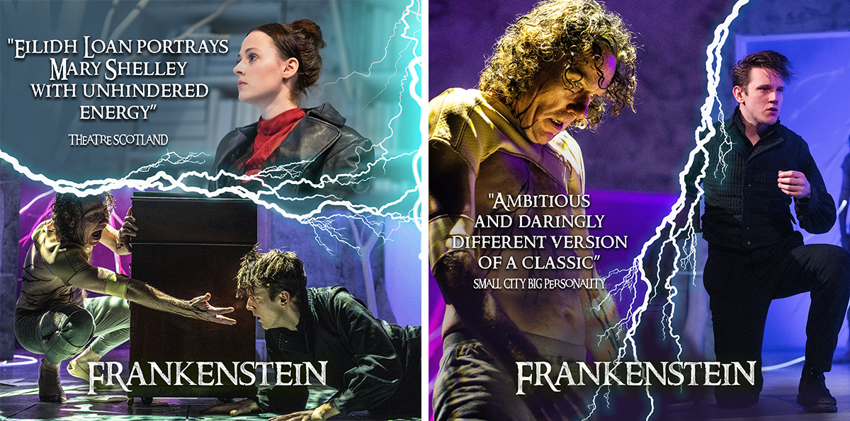 Reviews for Frankenstein at Derby Theatre 2