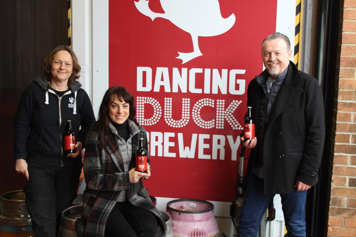 TWO Memory Box - Sean and Jo at Dancing Duck Brewery