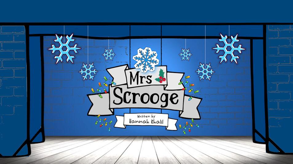 Mrs Scrooge Title Page