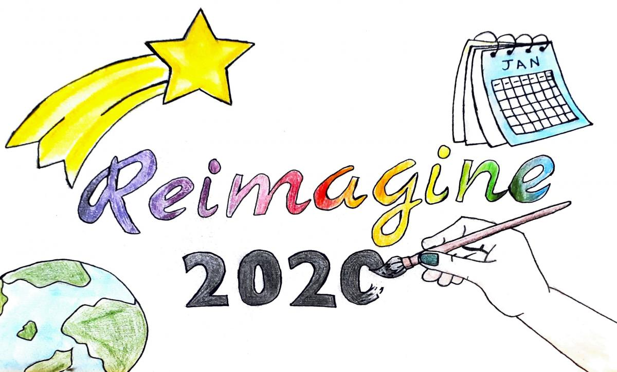 Reimagine 2020 Creative Response - Drawing 1