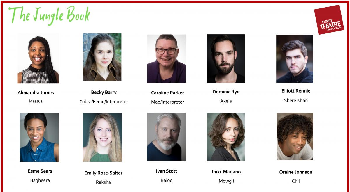 The Jungle Book at Derby Theatre Cast Announcement
