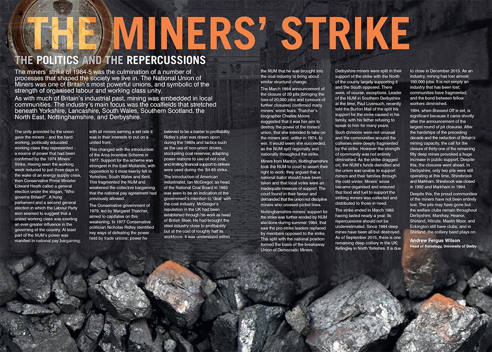 The Miner's Strike article - Brassed Off