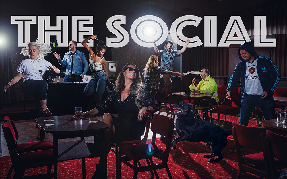 The Social by Not Too Tame, in association with Derby CAN