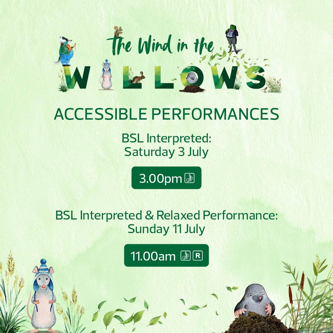 Accessible Performances for Wind in the Willows