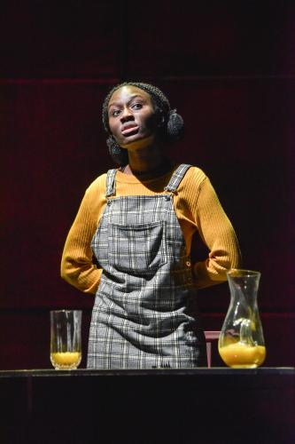 Heather Agyepong as Sephy - Photo by Robert Day