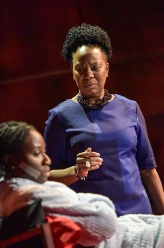Heather Agyepong as Sephy & Doreene Blackstock as Jasmine - Photo by Robert Day