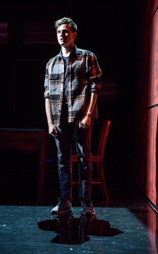 Billy Harris as Callum - Photo by Robert Day