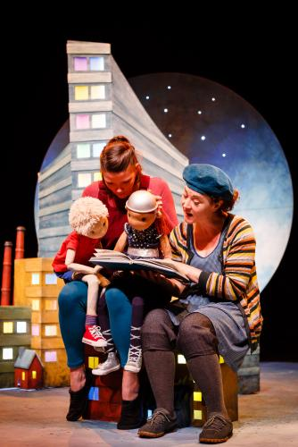 The Boy Who Climbed Into The Moon - Production Images