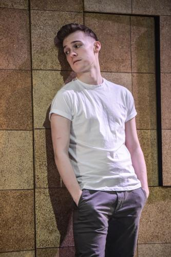 Matthew Biddulph as George - Photo by Robert Day