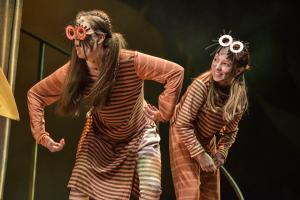 Community company members Imogen Uphill & Eva Waller - Photo by Robert Day