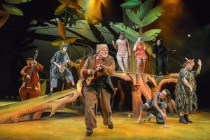 The Jungle Book company - Photo by Robert Day