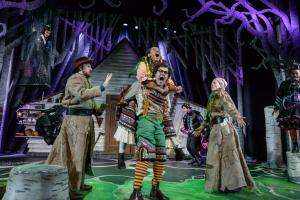 Hansel & Gretel company at Derby Theatre