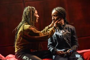 Kimisha Lewis as Minerva & Heather Agyepong as Sephy - Photo by Robert Day