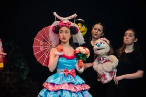 Saori Oda as Christmas Eve & Cecily Redman as Kate Monster
