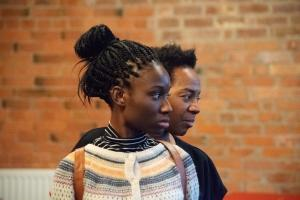 Heather Agyepong & Doreene Blackstock - Photo by Sam Johnson