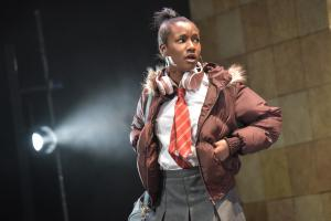 Taja Christian as Stacey - Photo by Robert Day