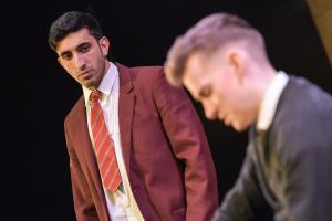 Adeel Ali as Mohammed & Matthew Biddulph as George - Photo by Robert Day