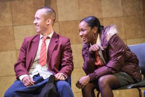 Terry Haywood as Craig & Taja Christian as Stacey - Photo by Robert Day