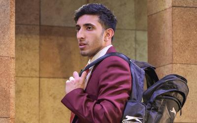 Adeel Ali as Mohammed - Photo by Robert Day