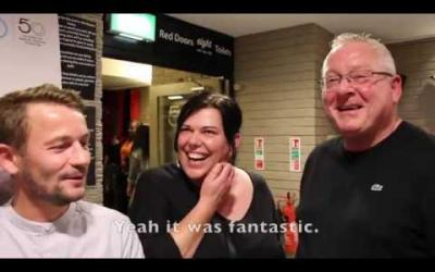 Rita, Sue and Bob Too - In the Bar (Audience Reactions)