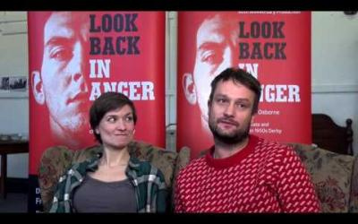 Derby Theatre - Look Back in Anger - In Rehearsals