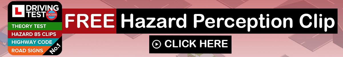 Hazard perception test free mock test