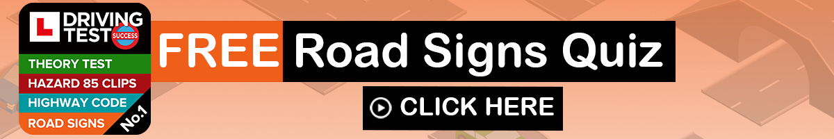 toughest road signs quiz