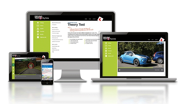 theory test practise online training