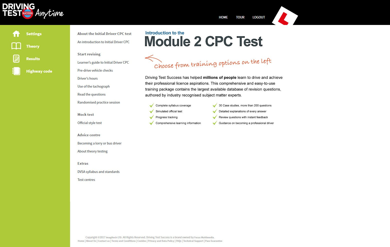 module 2 CPC revision for LGV and PCV screenshot