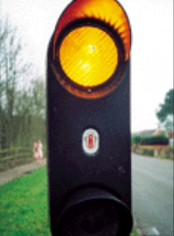 school crossing patrol lights