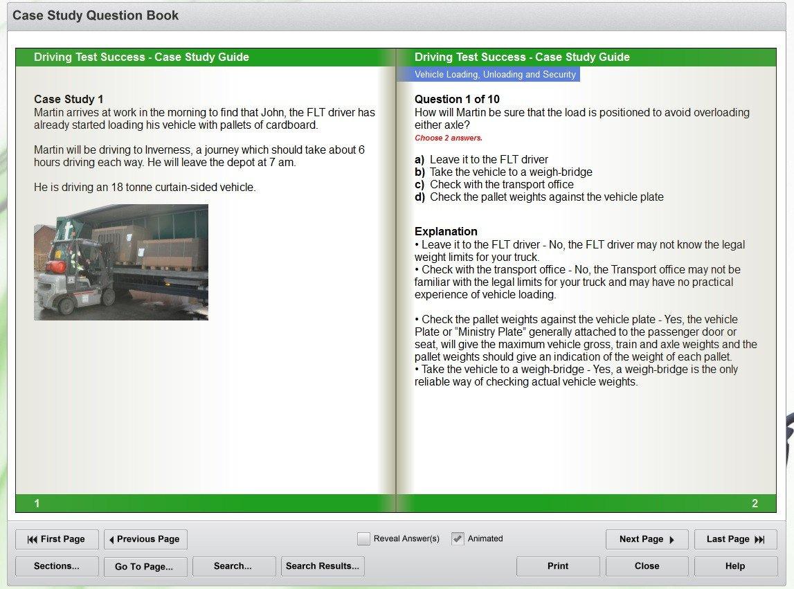 LGV/PCV CPC case study DVD screenshot