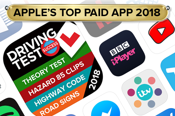 Apple's top paid app for 2018