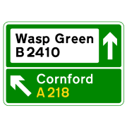 UK Road signs - direction