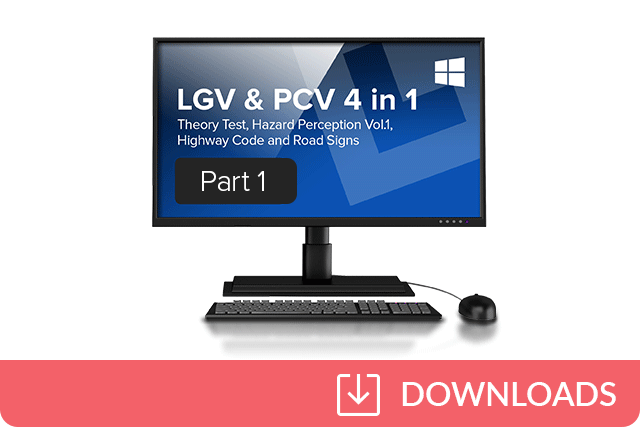LGV and PCV Theory Test 4 in 1