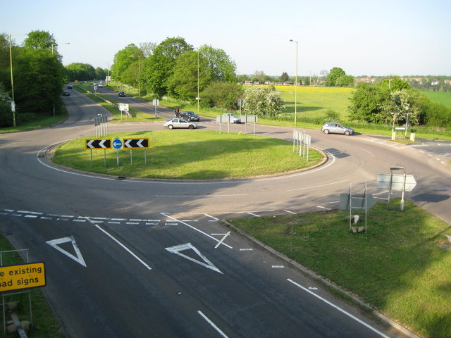clutch and brake control at the roundabout