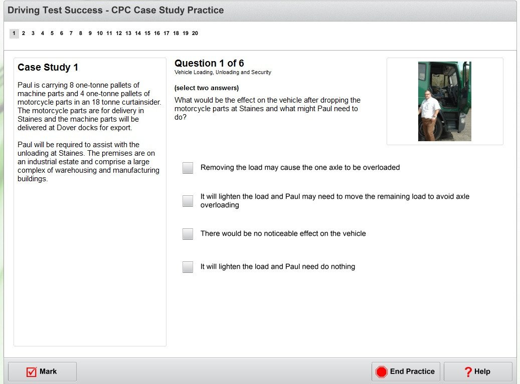 Complete LGV/PCV CPC case study practice DVD screenshot