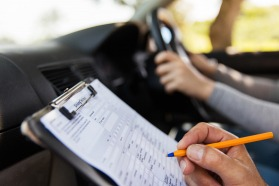 Driving test process