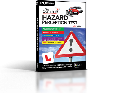 The Complete Hazard Perception Test PC DVD-ROM