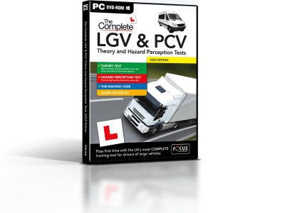 The Complete LGV & PCV Theory Test - PC DVD-ROM