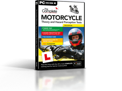 The Complete Motorcycle Theory Test - PC DVD-ROM