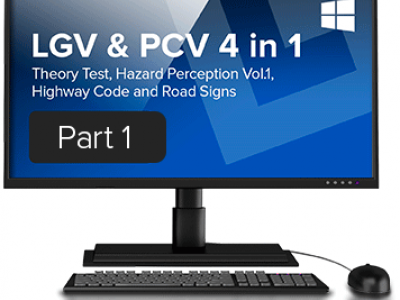 LGV and PCV Theory Test 4 in 1 download