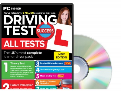 Driving Test Success All Tests DVD ROM